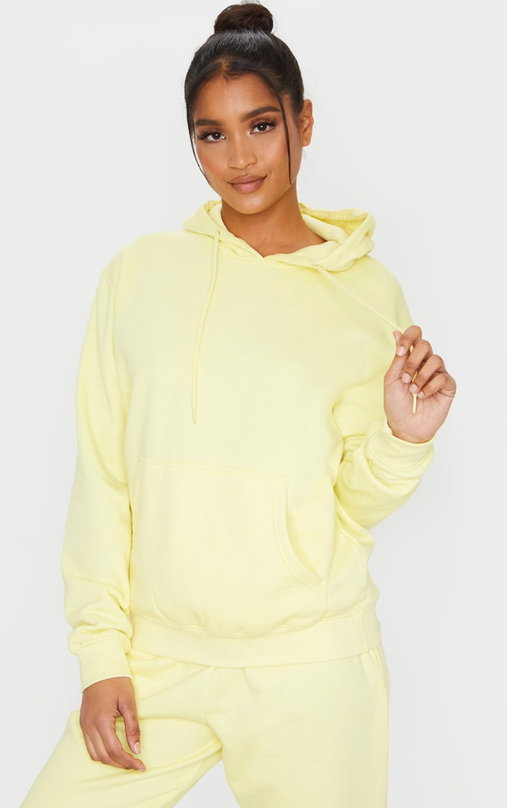 Pale Lime Ultimate Oversized Hoodie 1