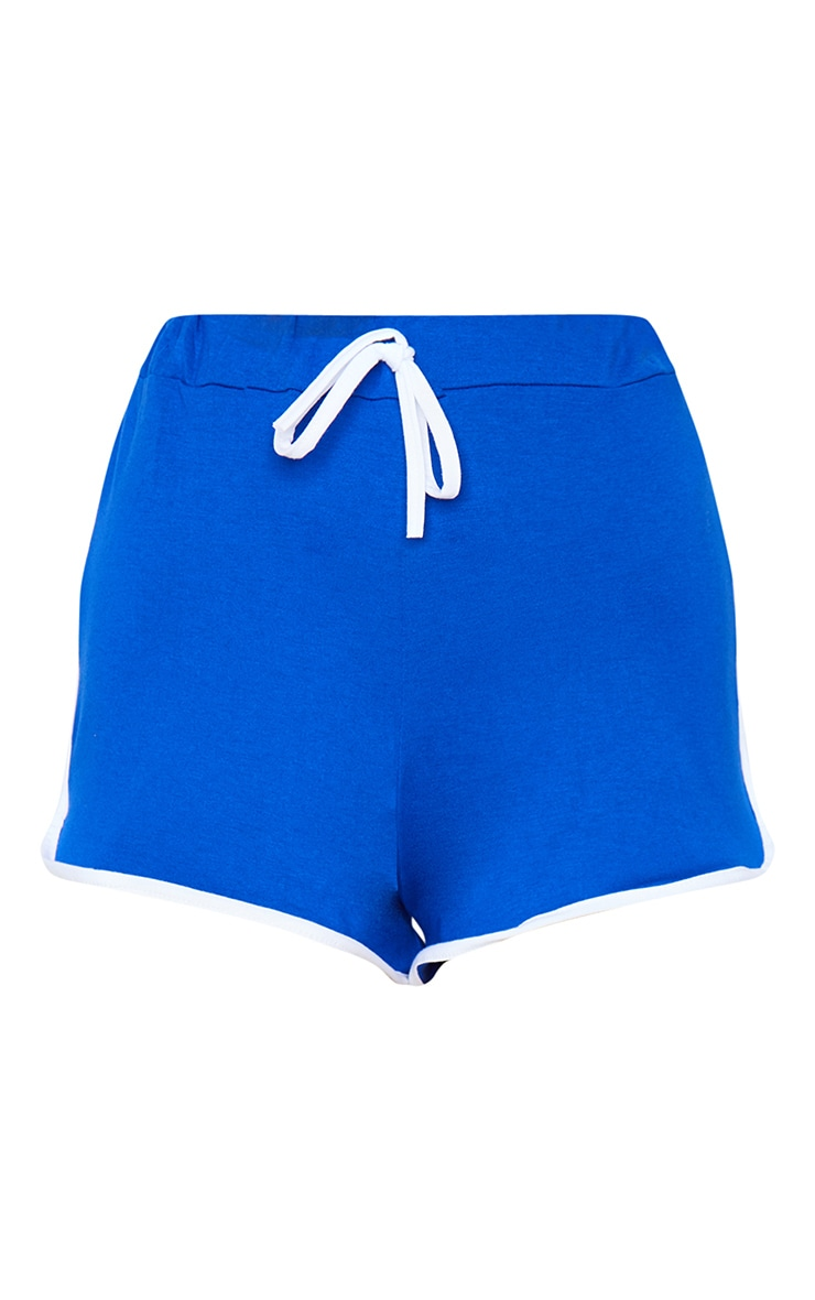 Cobalt Double Side Stripe Runner Shorts 6