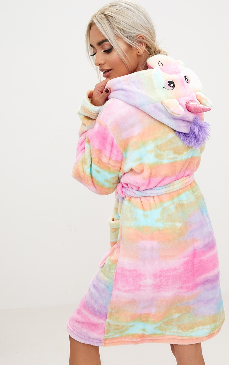 Rainbow Unicorn Dressing Gown 1