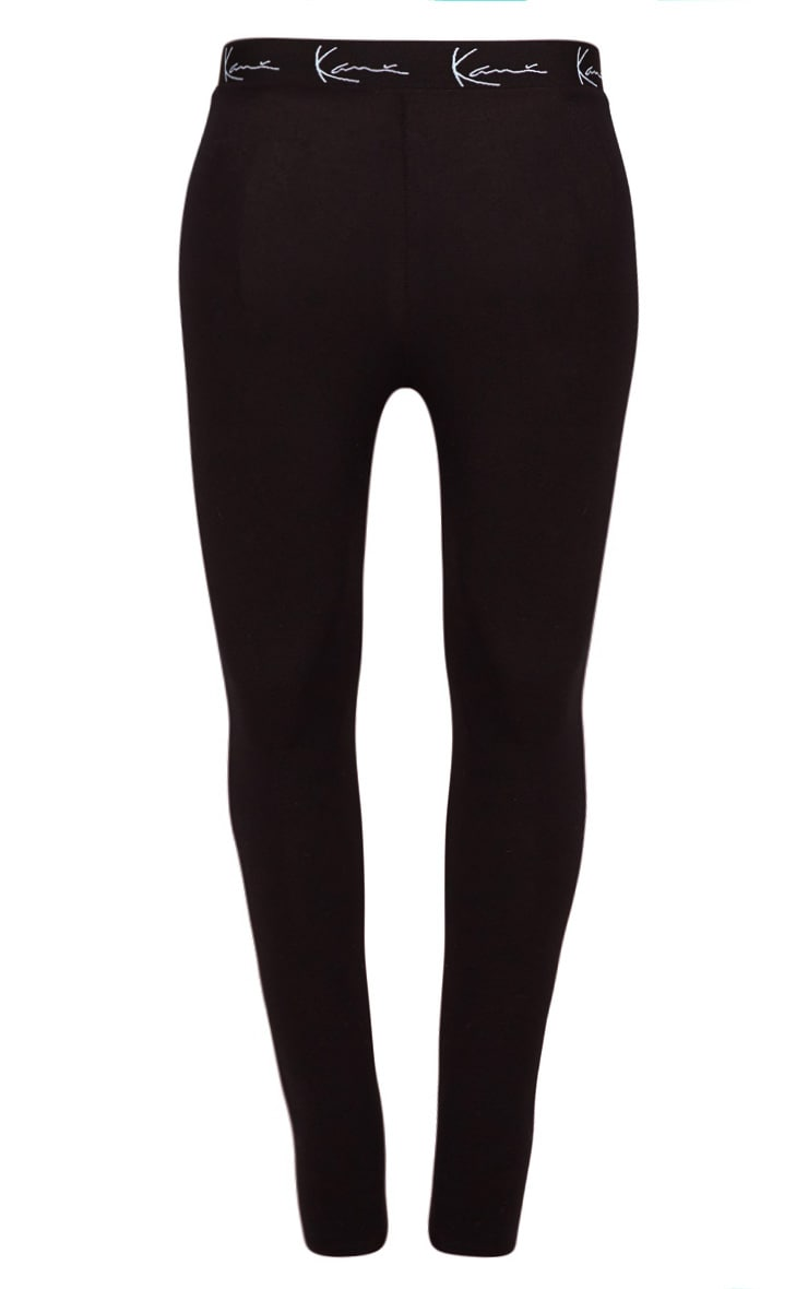 KARL KANI Black Leggings 4