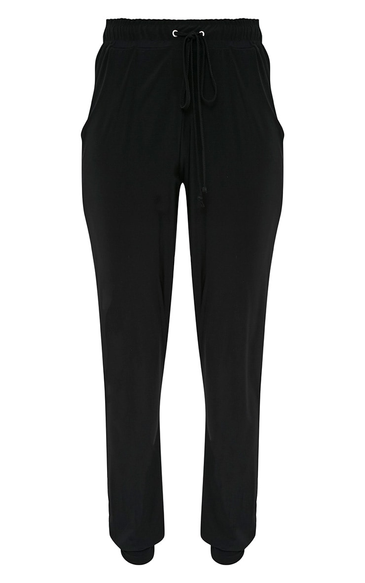 Savanna Black Slinky Joggers 3