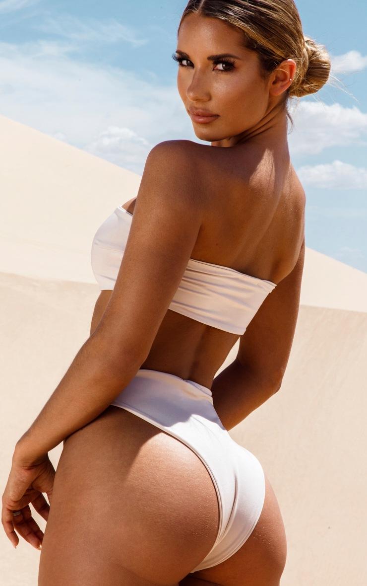 Haut de bikini bandeau nude 2
