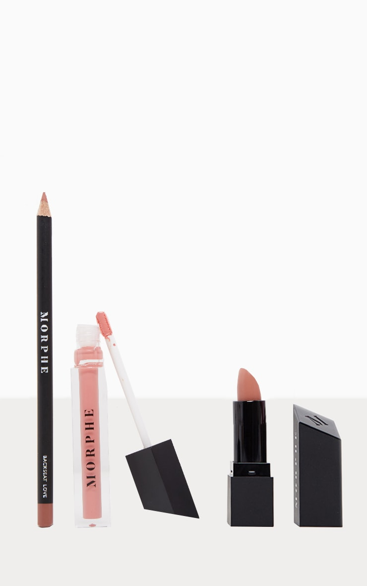 Morphe Out And a Pout Lip Trio Nude Pink 1