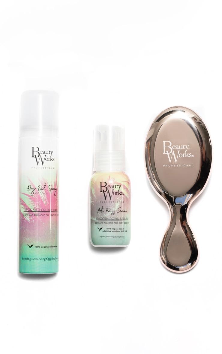 Beauty Works Dry Oil x Anti Frizz Serum Travel Set (Worth £32) 2