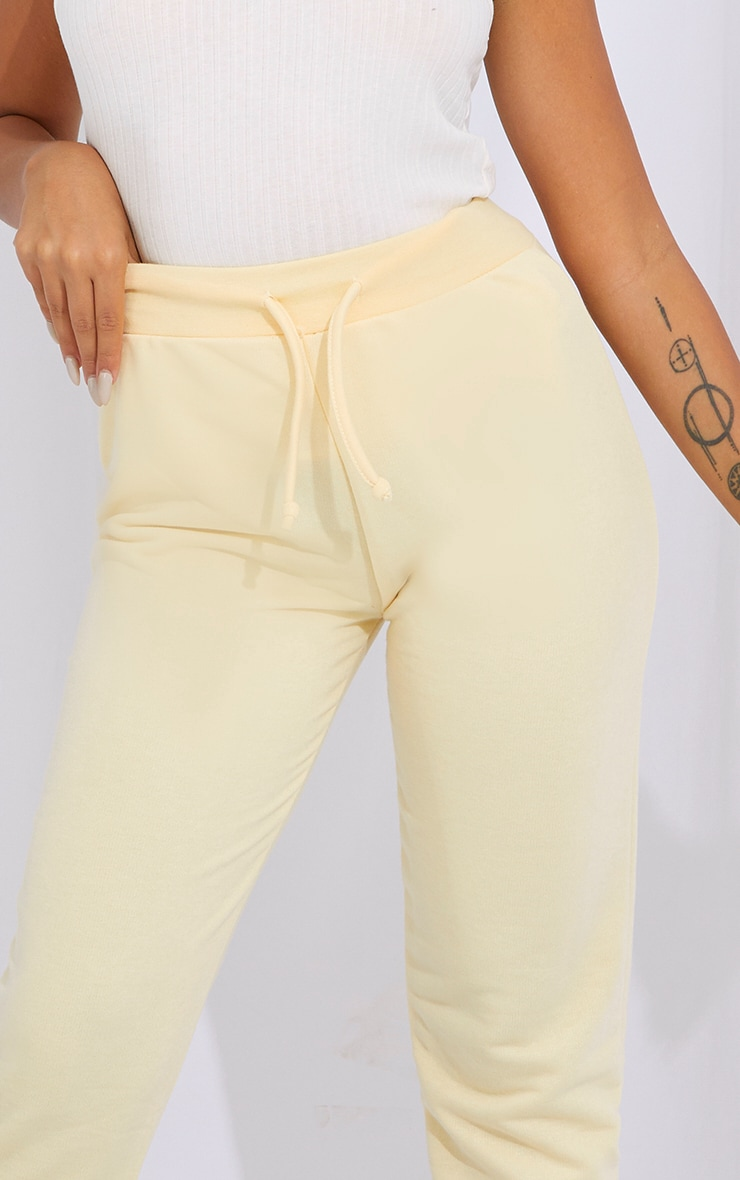Petite Cream Ultimate Sweat Jogger 4
