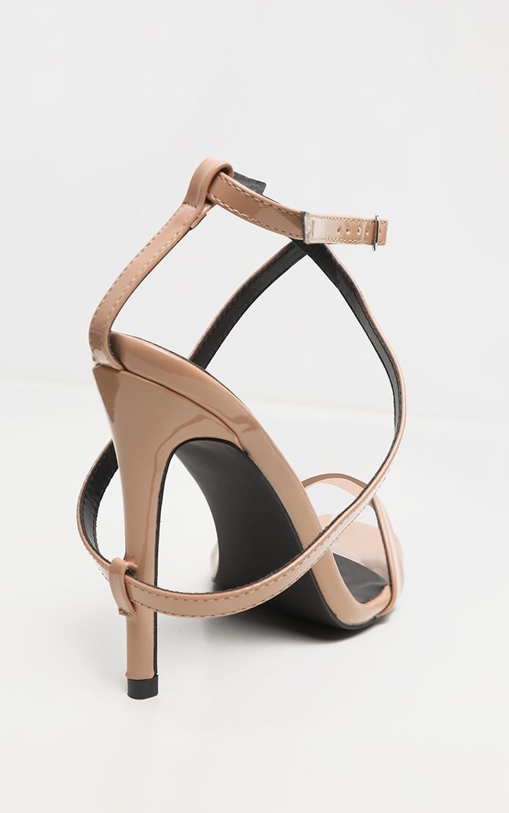 Nude Strap Heel Detailed Sandal 3
