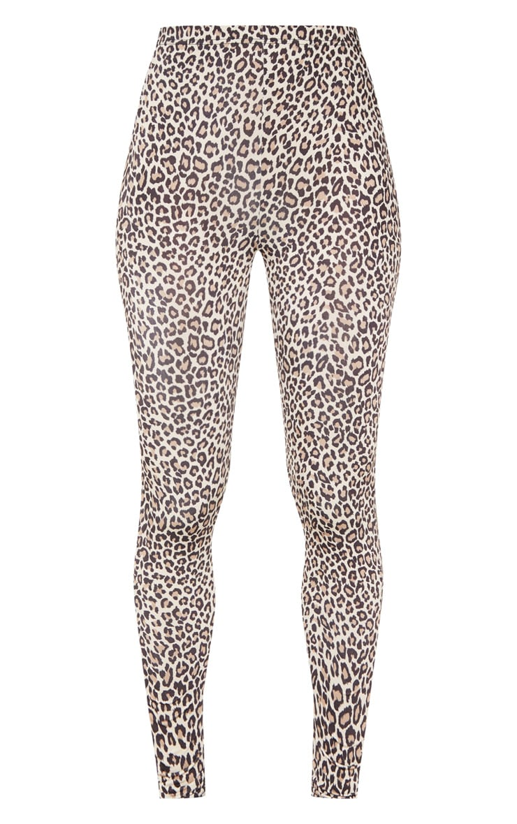 Leopard Print Soft Touch Legging 3