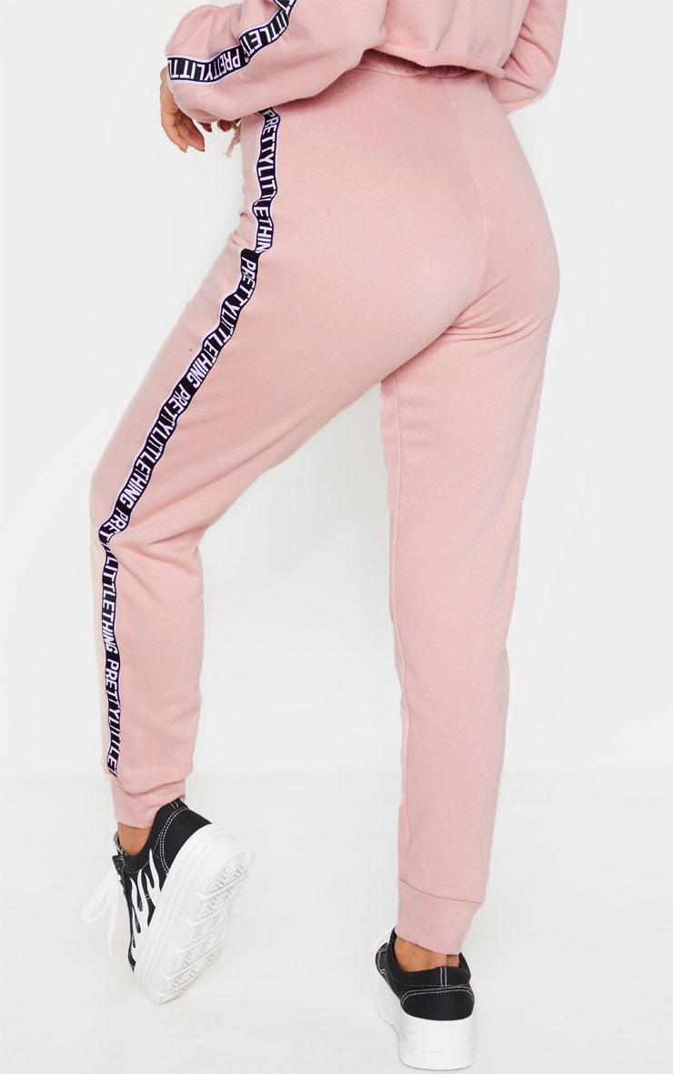 PRETTYLITTLETHING Petite Rose Joggers 4