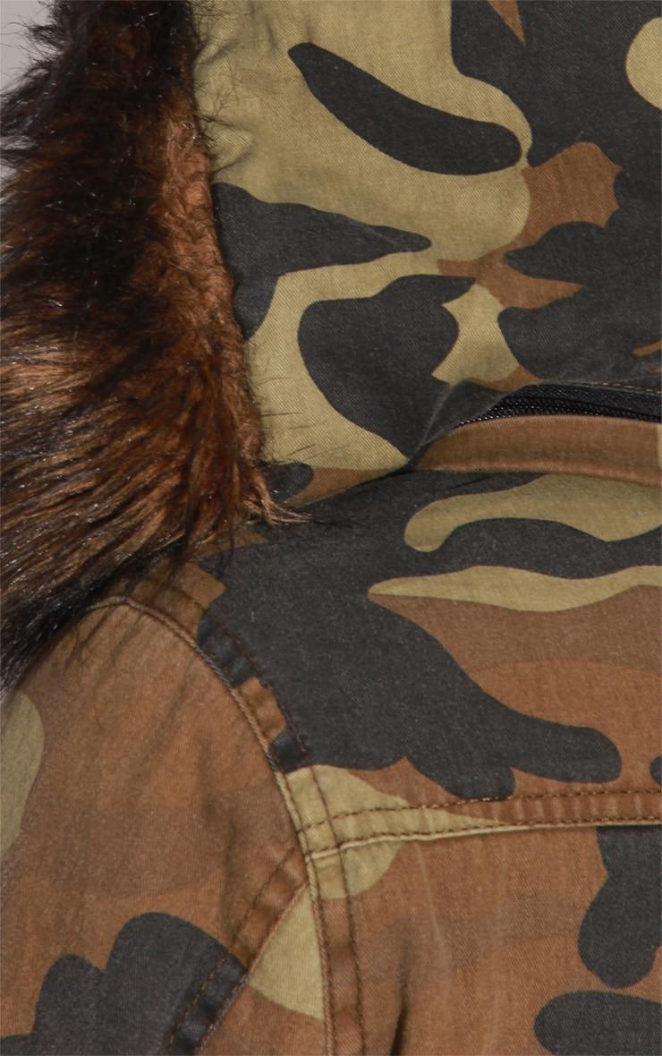 Nicola Camouflage Parka Coat 6