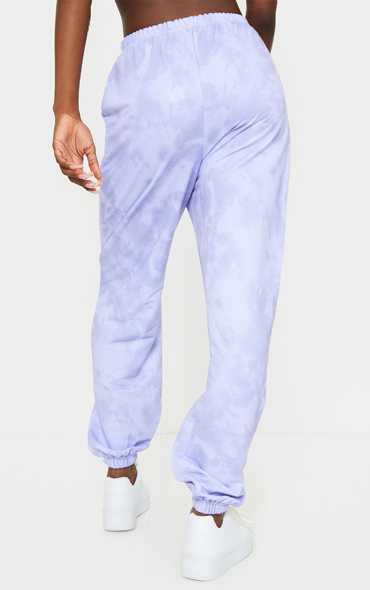 Tall Lilac Tie Dye Basic Jogger 3