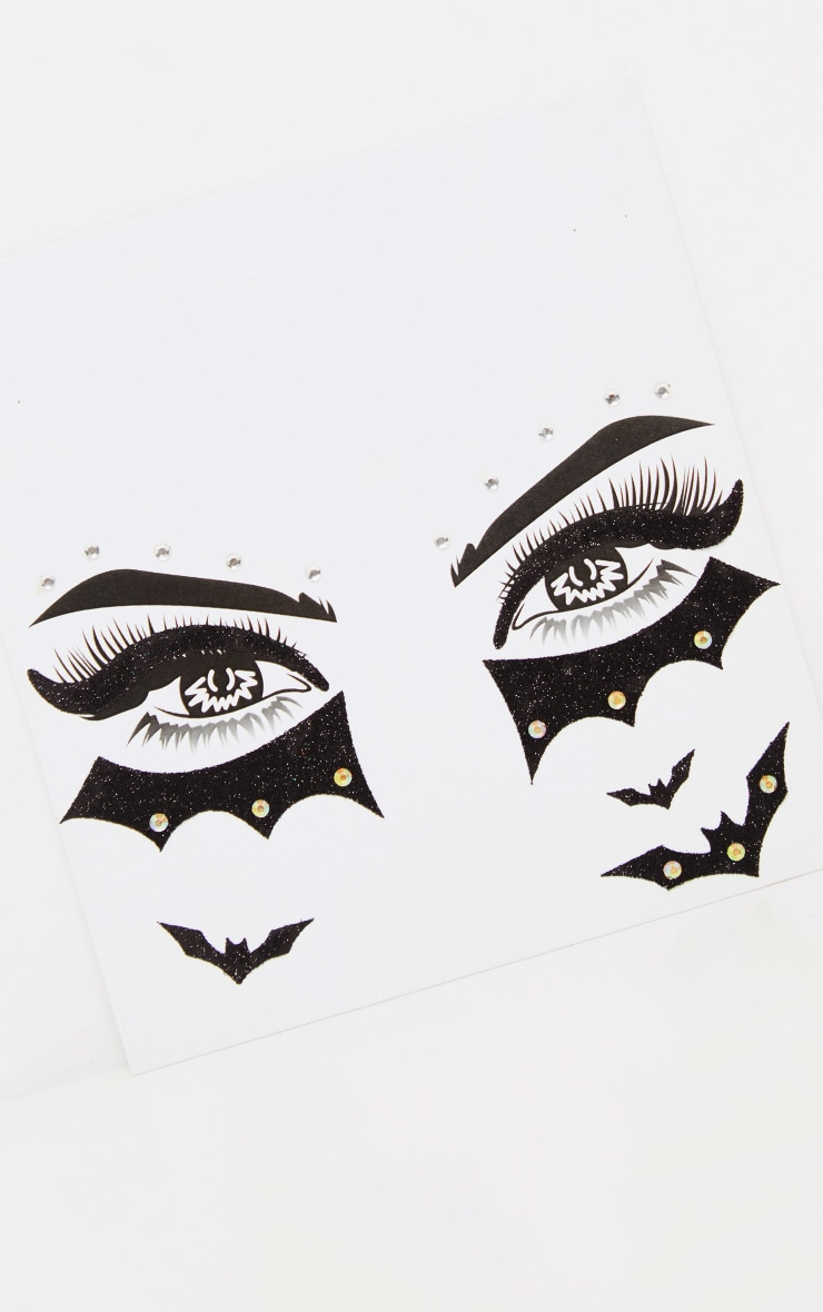PRETTYLITTLETHING Bat Eyed Girl Face Sticker 3