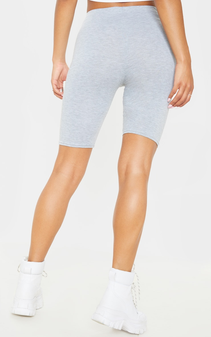 Grey Basic Bike Short 2 Pack 4