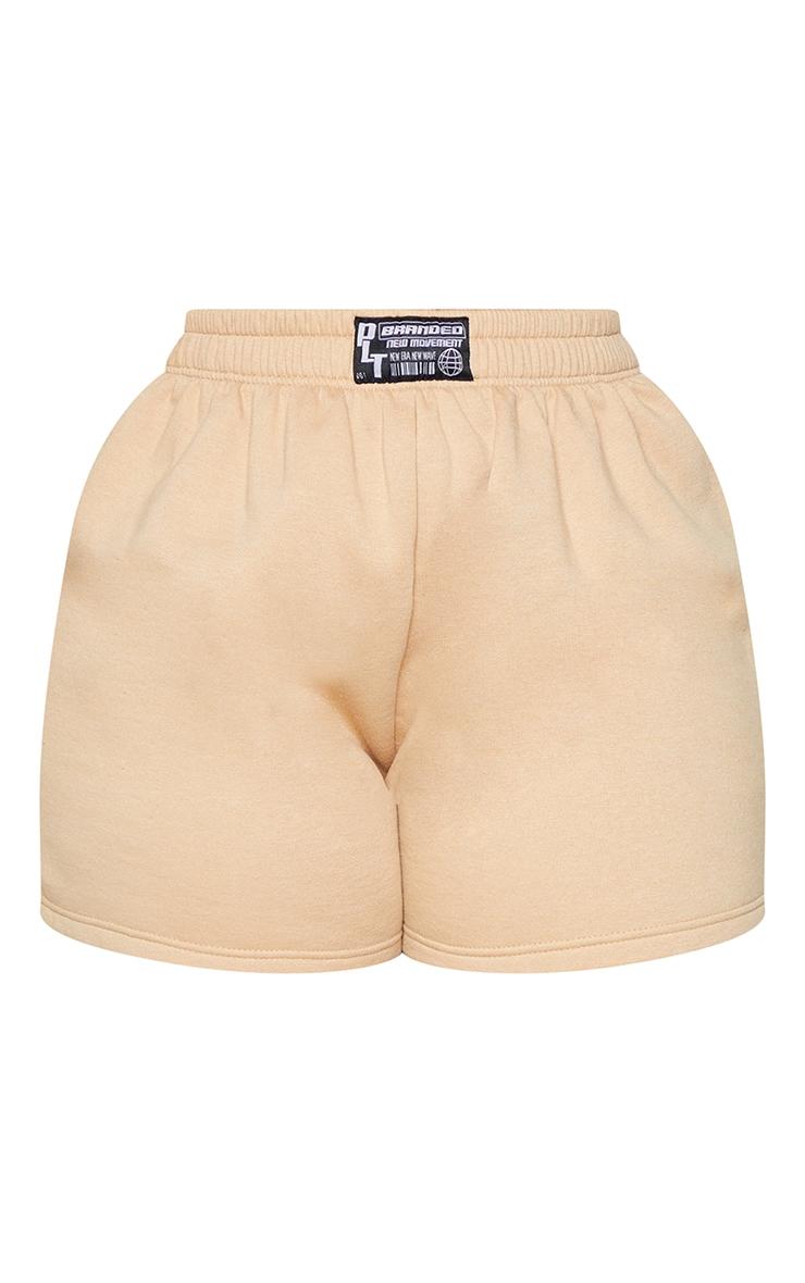 Plus Stone PLT Badge Sweat Shorts 6