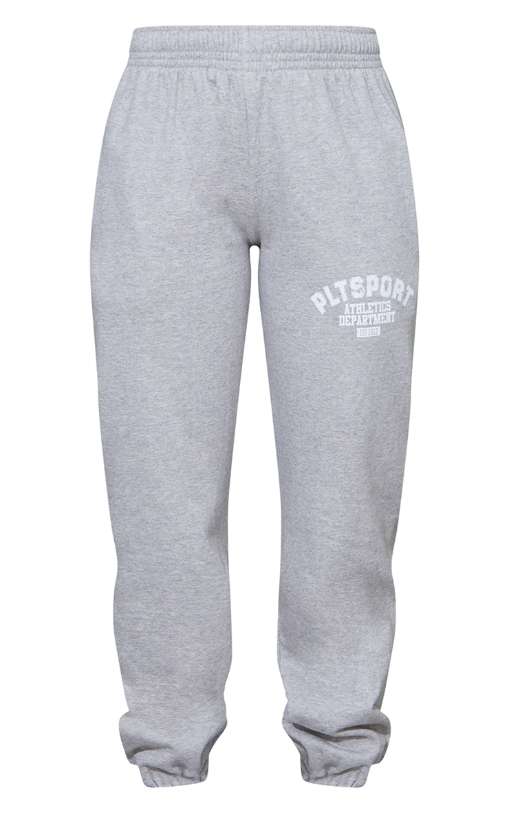 PRETTYLITTLETHING Grey Sport Oversized Joggers 5