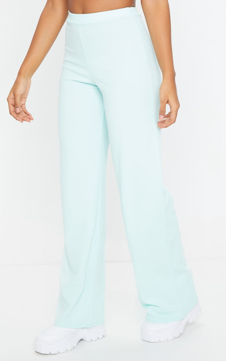 Mint High Waisted Wide Leg Pants 2