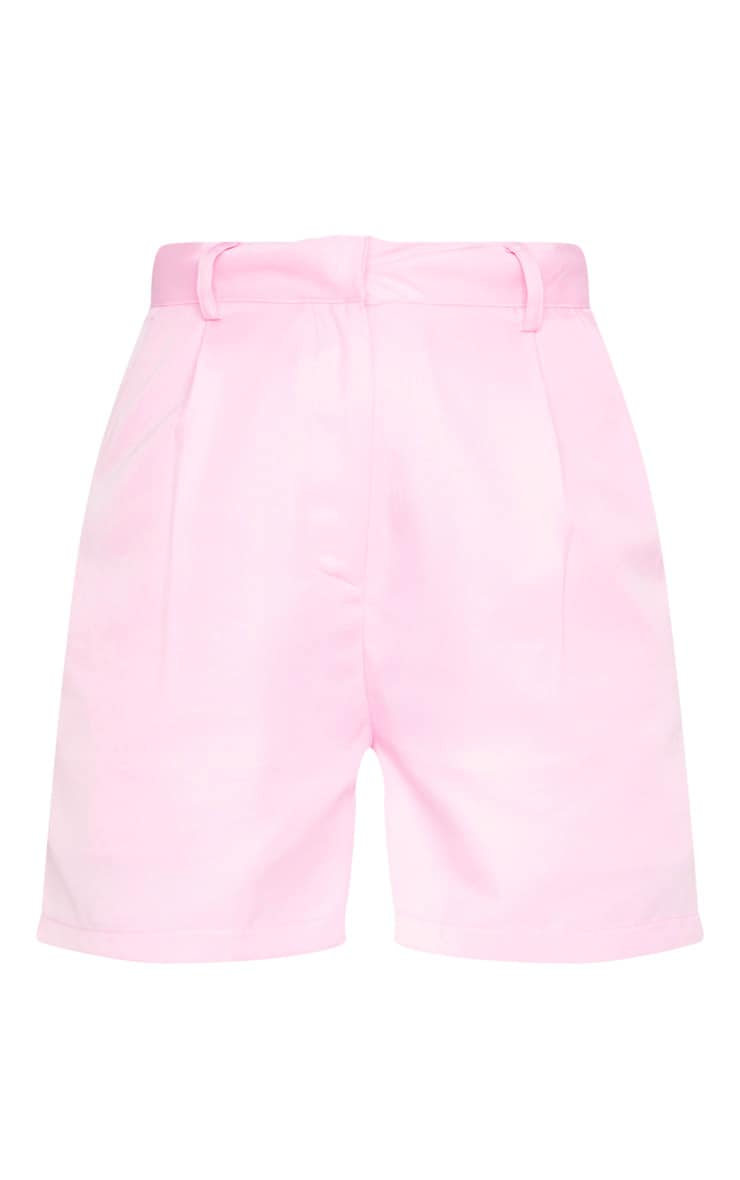 Pink Woven Tailored Short 6