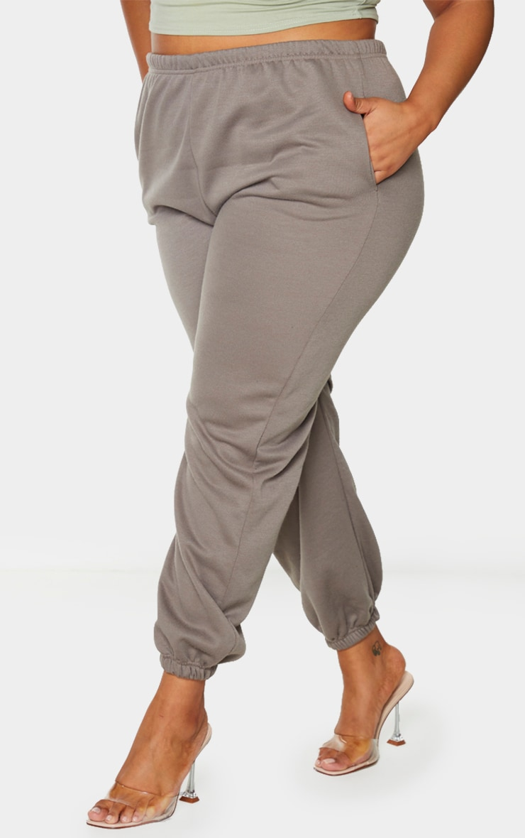 Plus Khaki Casual Jogger 2