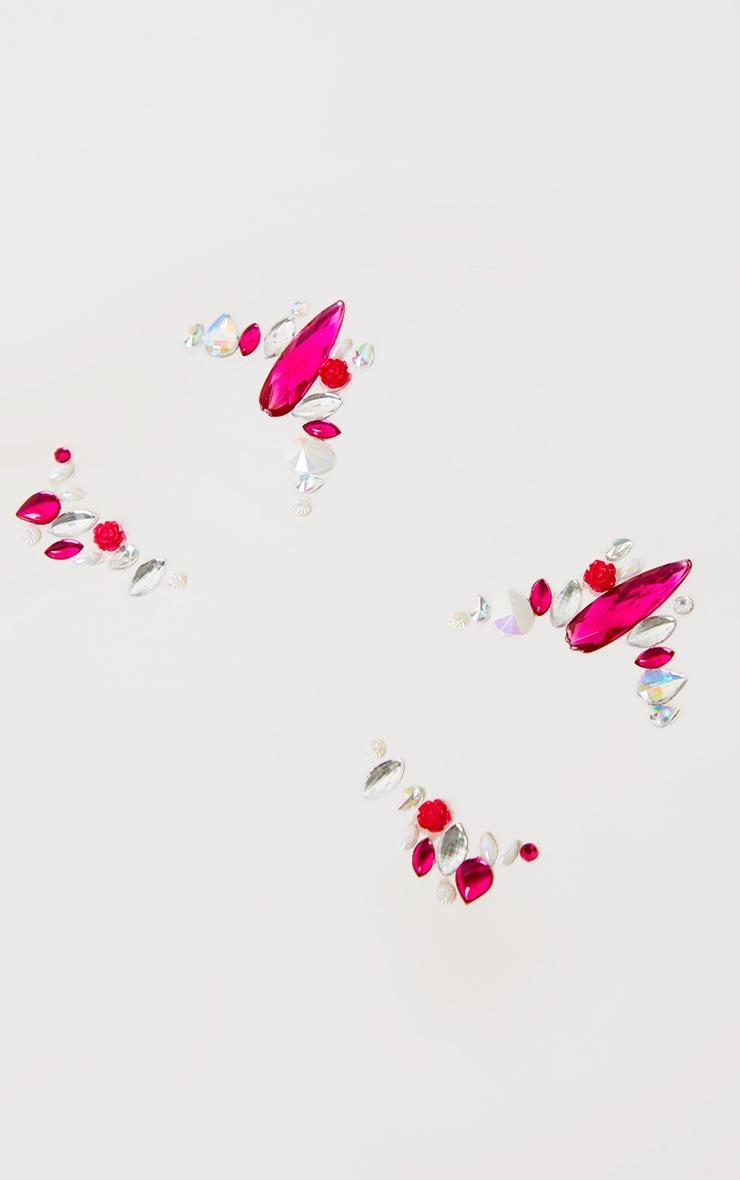 PRETTYLITTLETHING - Bijoux de visage Pink Pegasus 2
