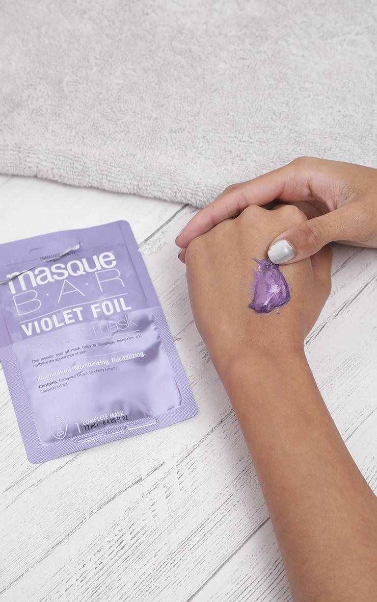 MasqueBar Violet Peel Off Mask 1