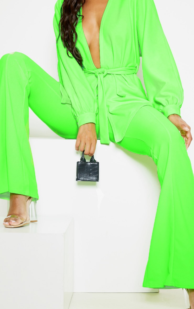 Lime Flared Trouser  5
