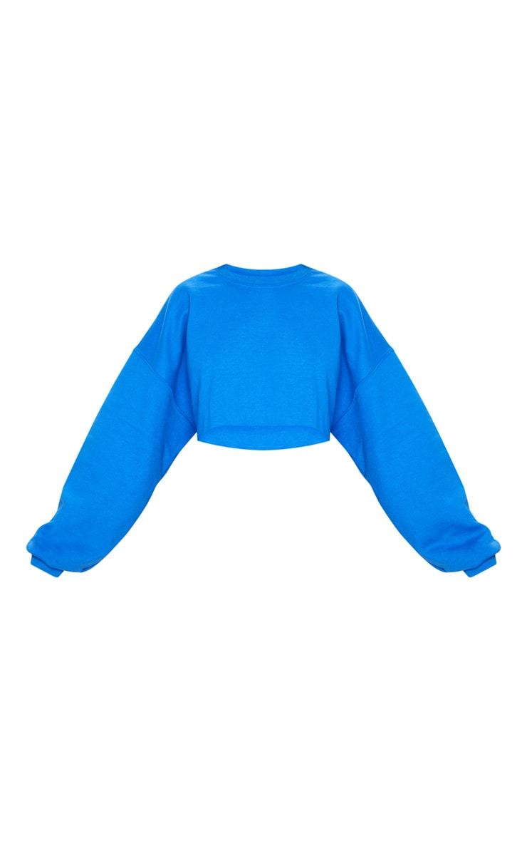 Indigo Blue Ultimate Cropped Sweater 3