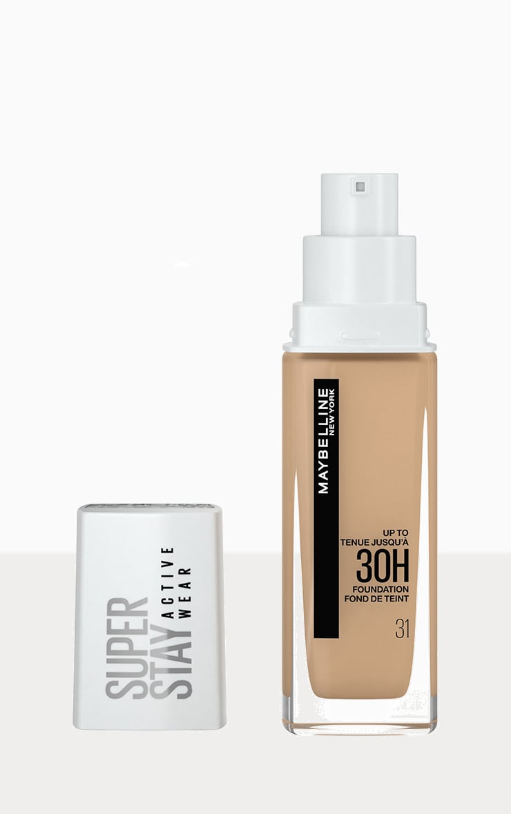 Maybelline Superstay Active Wear Full Coverage 30 Hour Long-lasting Liquid Foundation 31 Warm Nude 1