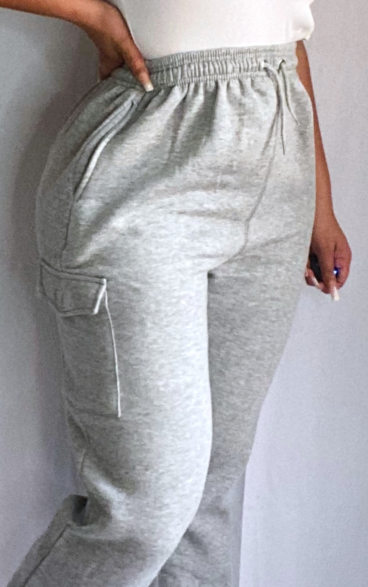Plus Grey Pocket Detail Joggers 4