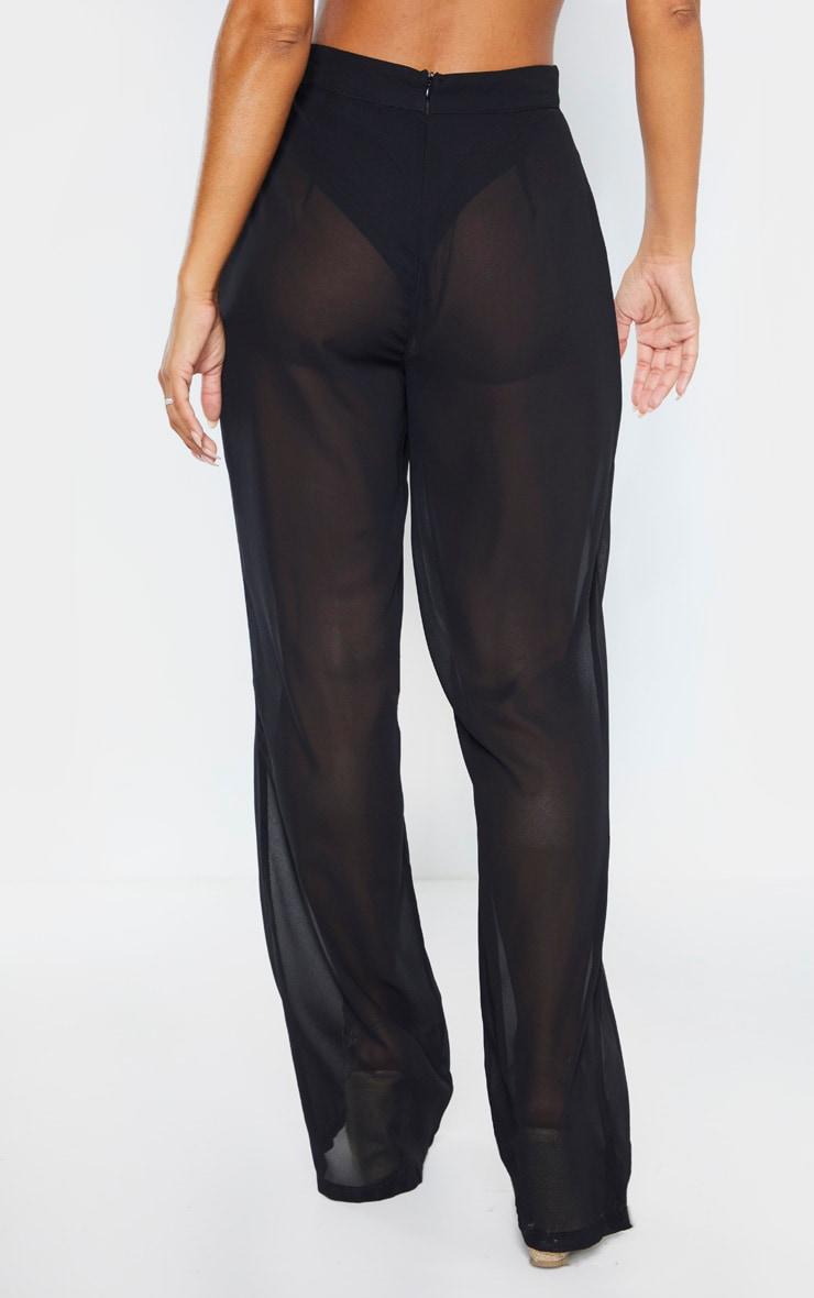 Black Beach Pants 4