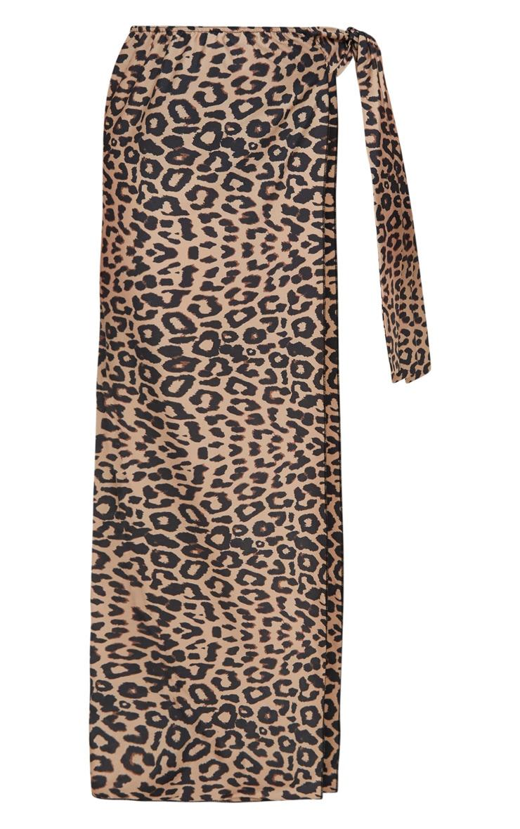 PLT Plus- Paréo léopard en mousseline de soie 3