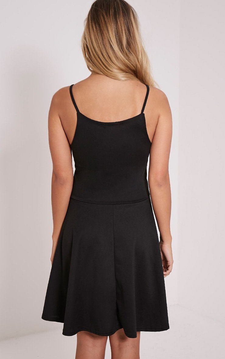 London Black Skater Dress 2