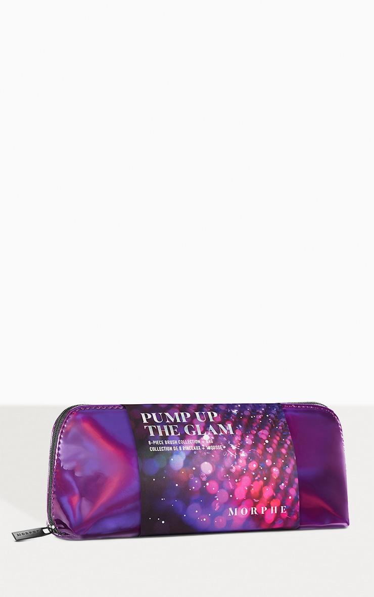Morphe - Kit 8 pinceaux visage & yeux Pump Up The Glam 2