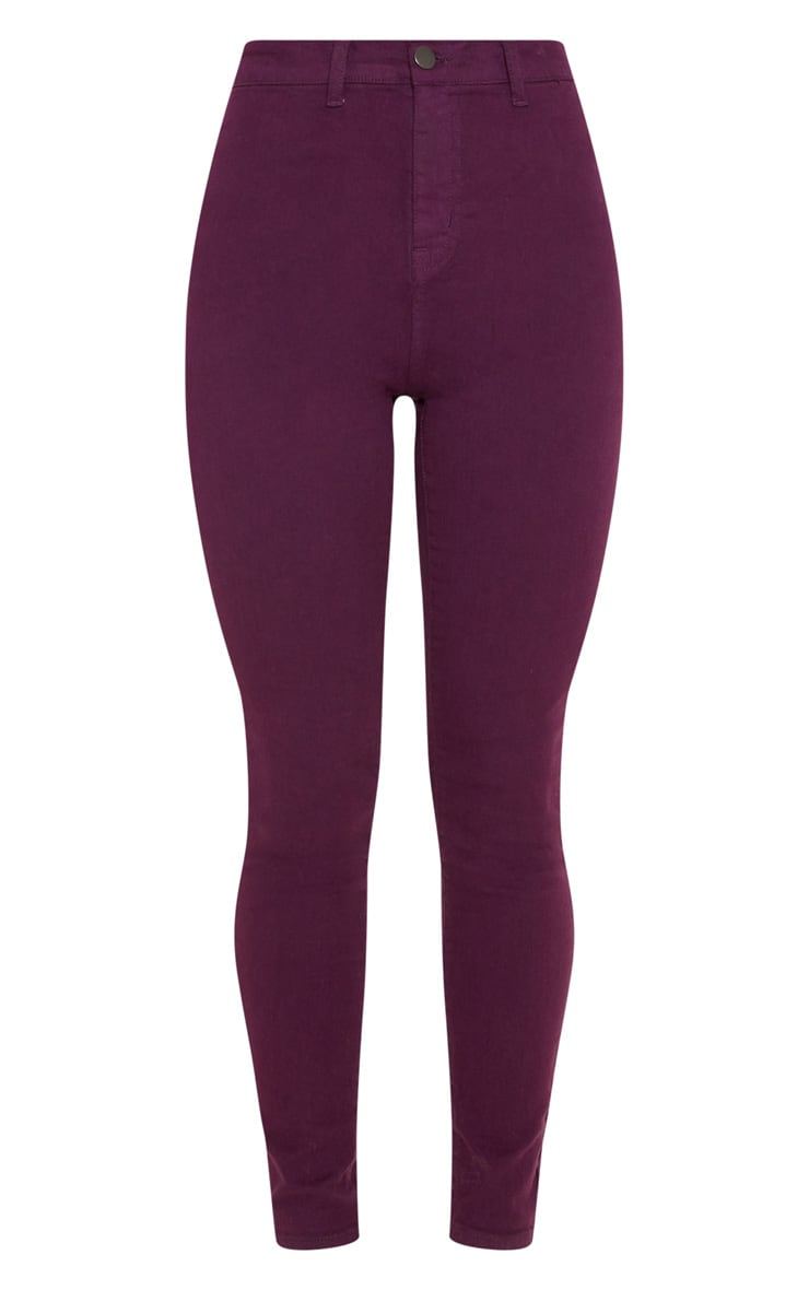 Purple Disco Fit Skinny Jean 3
