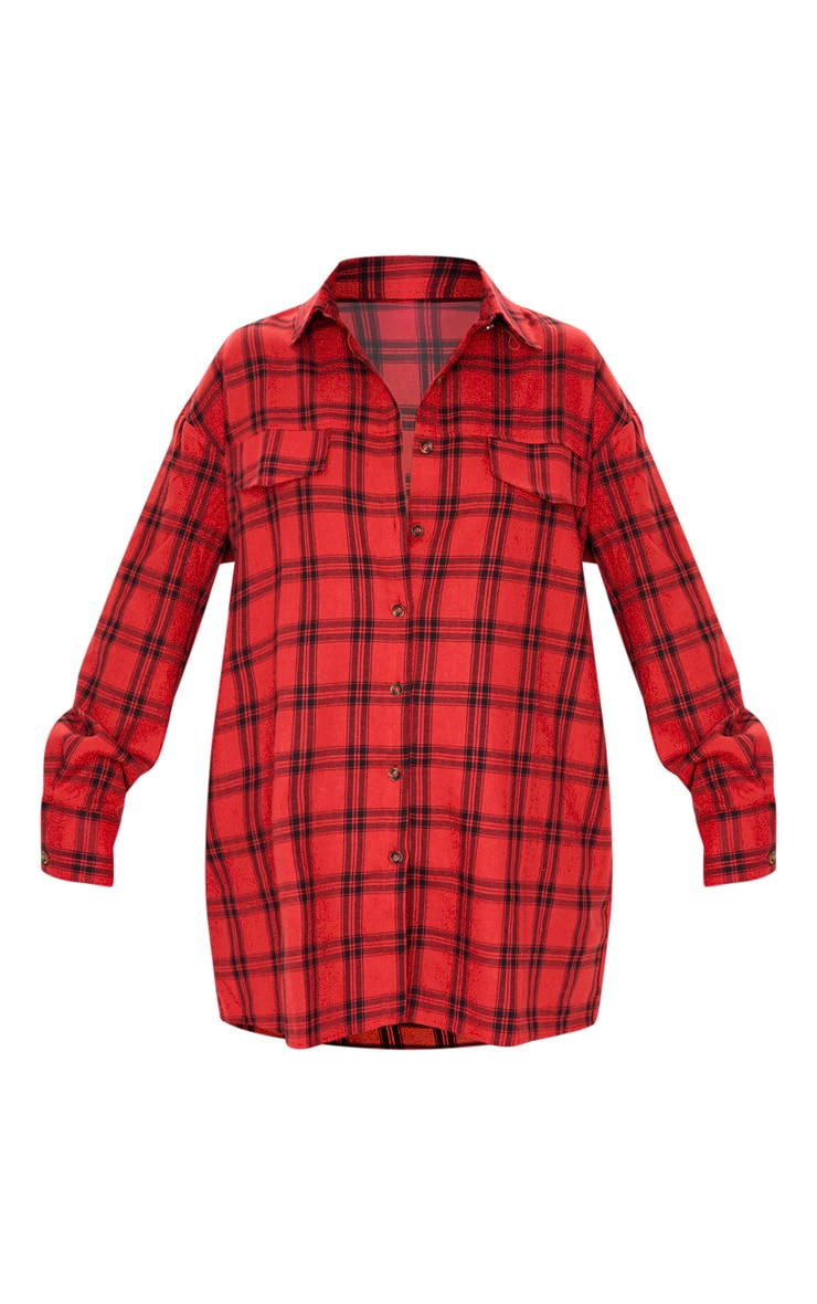 Red Checked Shirt 3