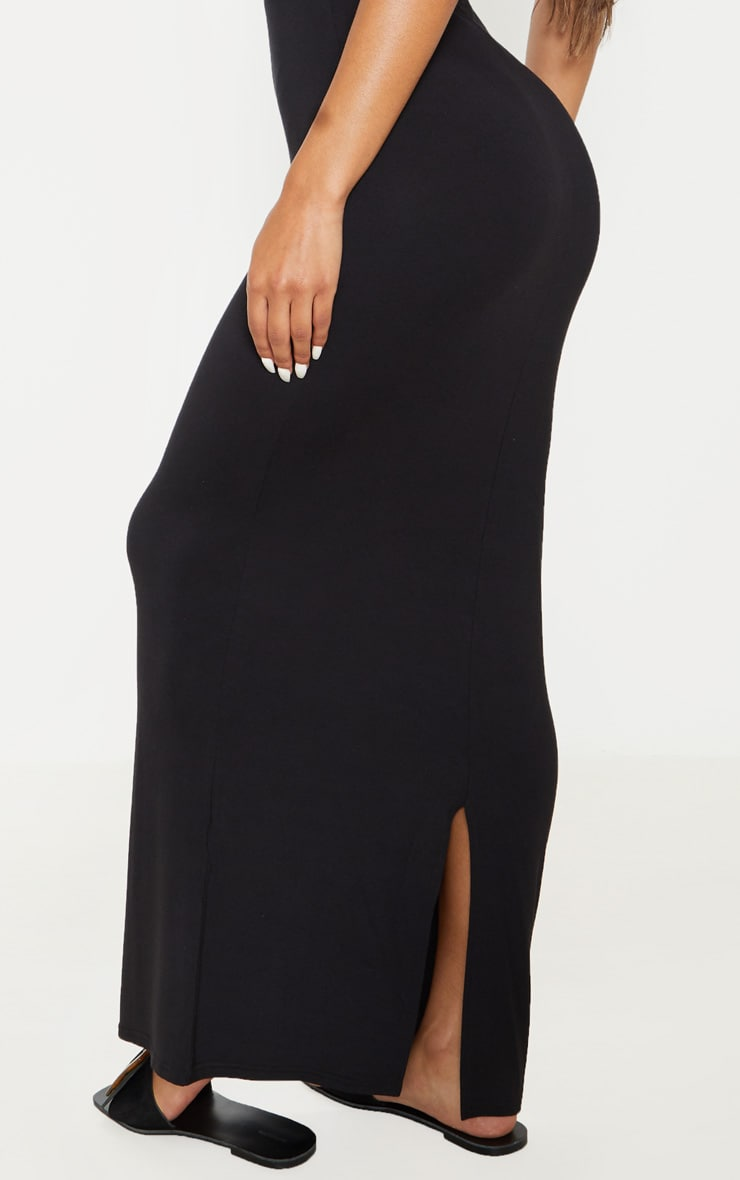 Black Bandeau Maxi Dress 5