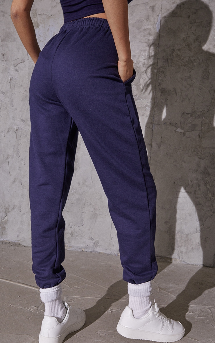 Navy Blue Sweat Pant Joggers 3