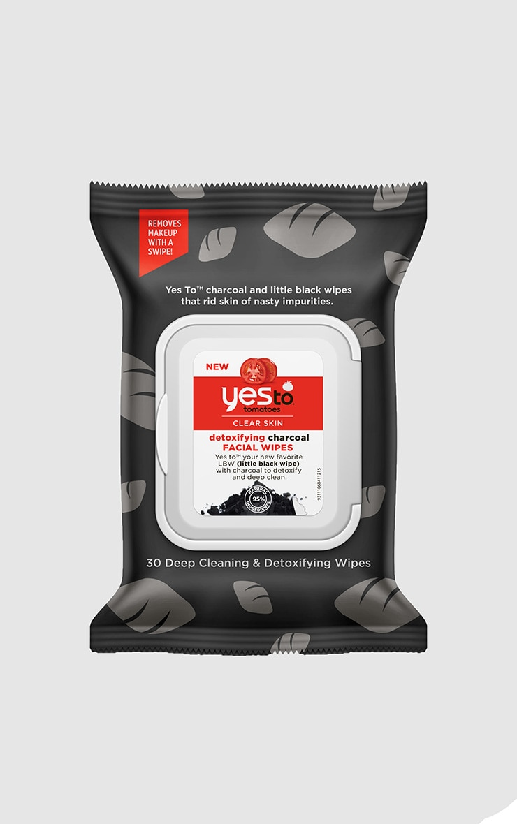 Yes To Tomato Detoxifying Charcoal Wipes  1