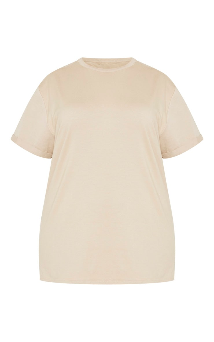 Plus Stone Oversized T Shirt  3