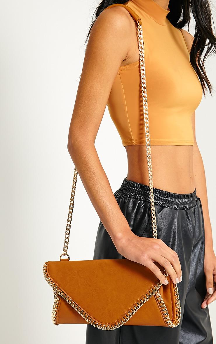 Theresa Tan Chain Envelope Clutch Bag 2