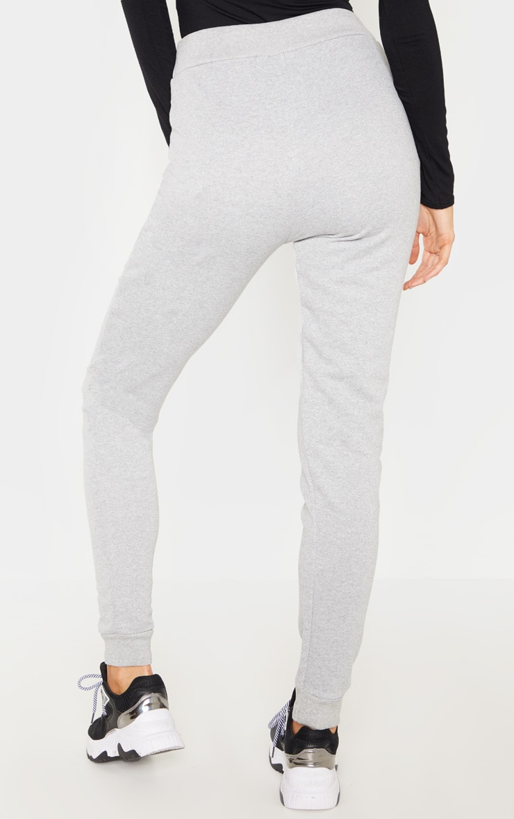Tall Grey Sweat Track Pants 4