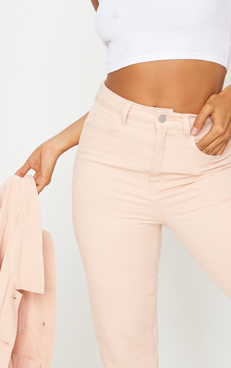 Pink Mom Jeans 4