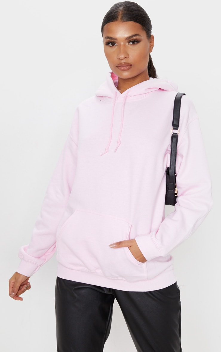 Baby Pink Steal His Slogan Hoodie 2