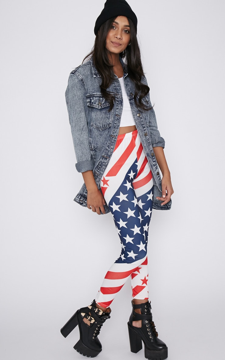 Morgana American Flag Legging  4