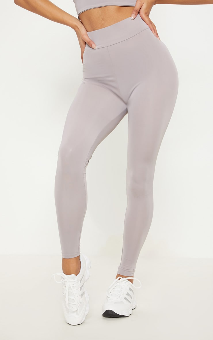 Grey Basic Gym Legging 2