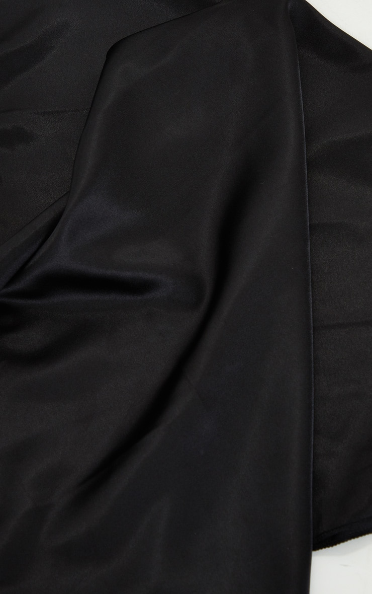 Black Satin Bandana 3