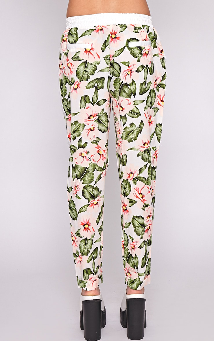 Thea Floral Drawstring Trouser 4