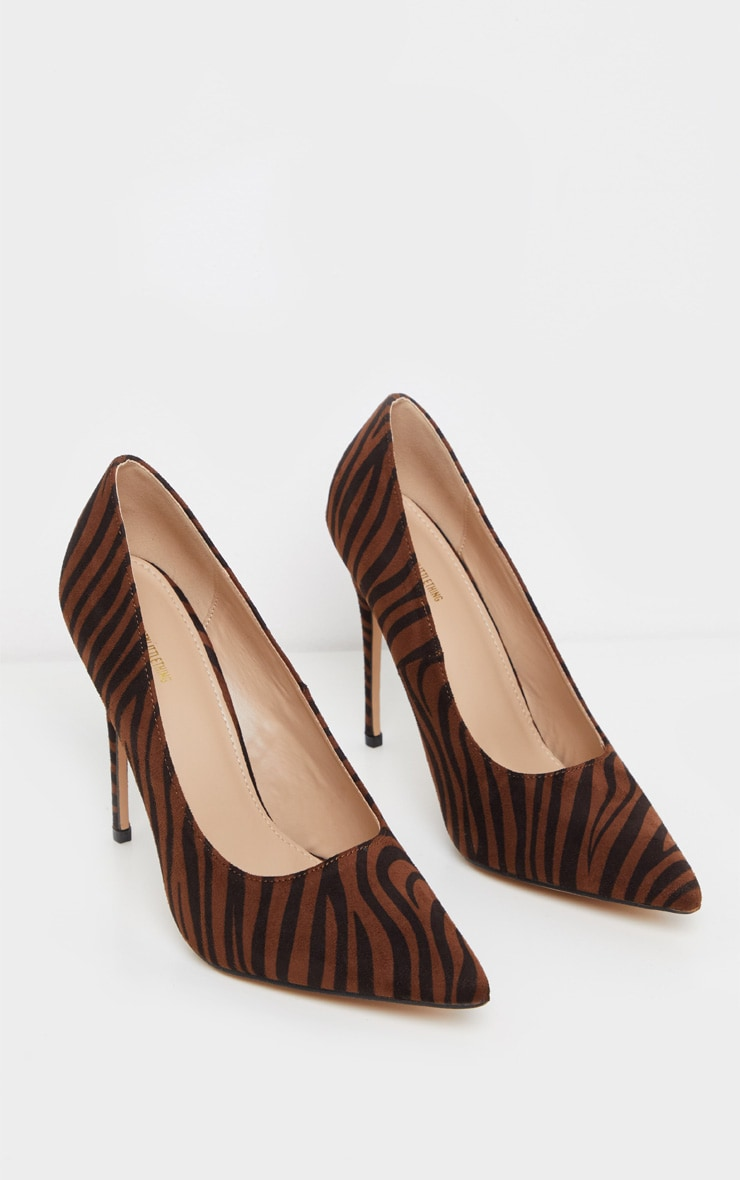 Zebra Court Shoes 3