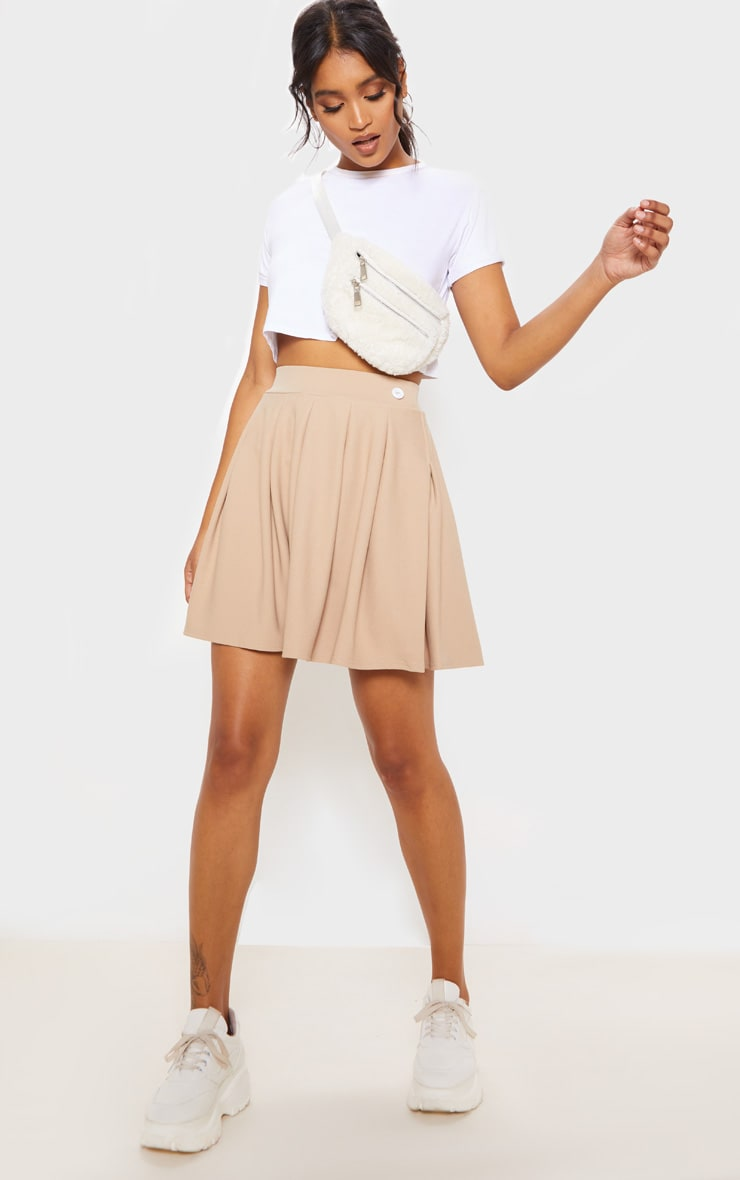 Stone Pleated Tennis Skirt 5