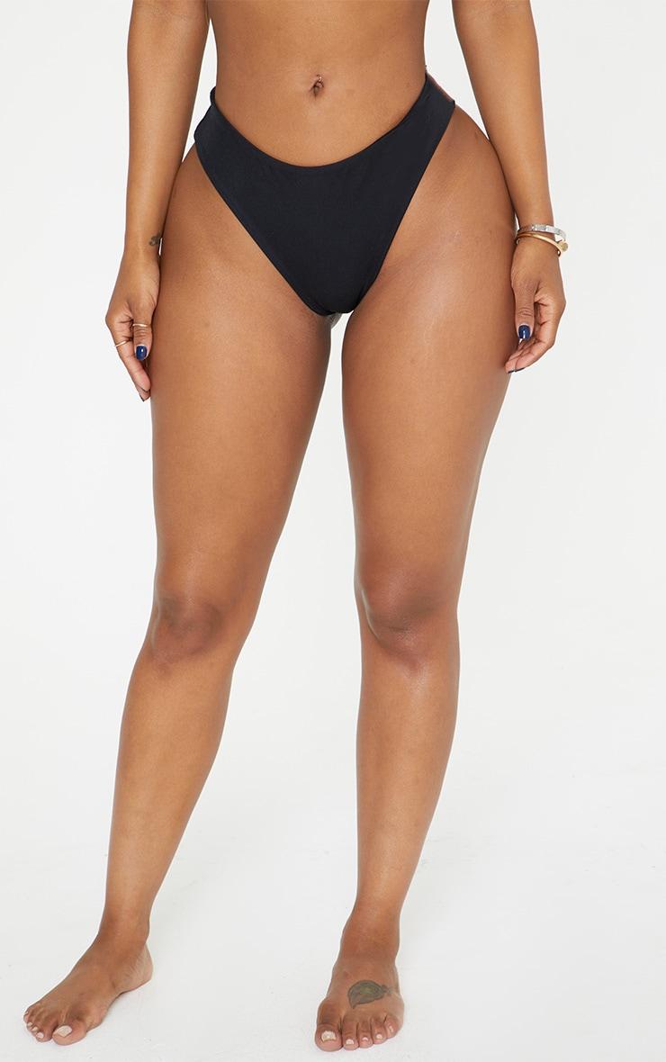 Shape Black Bikini Bottom 4