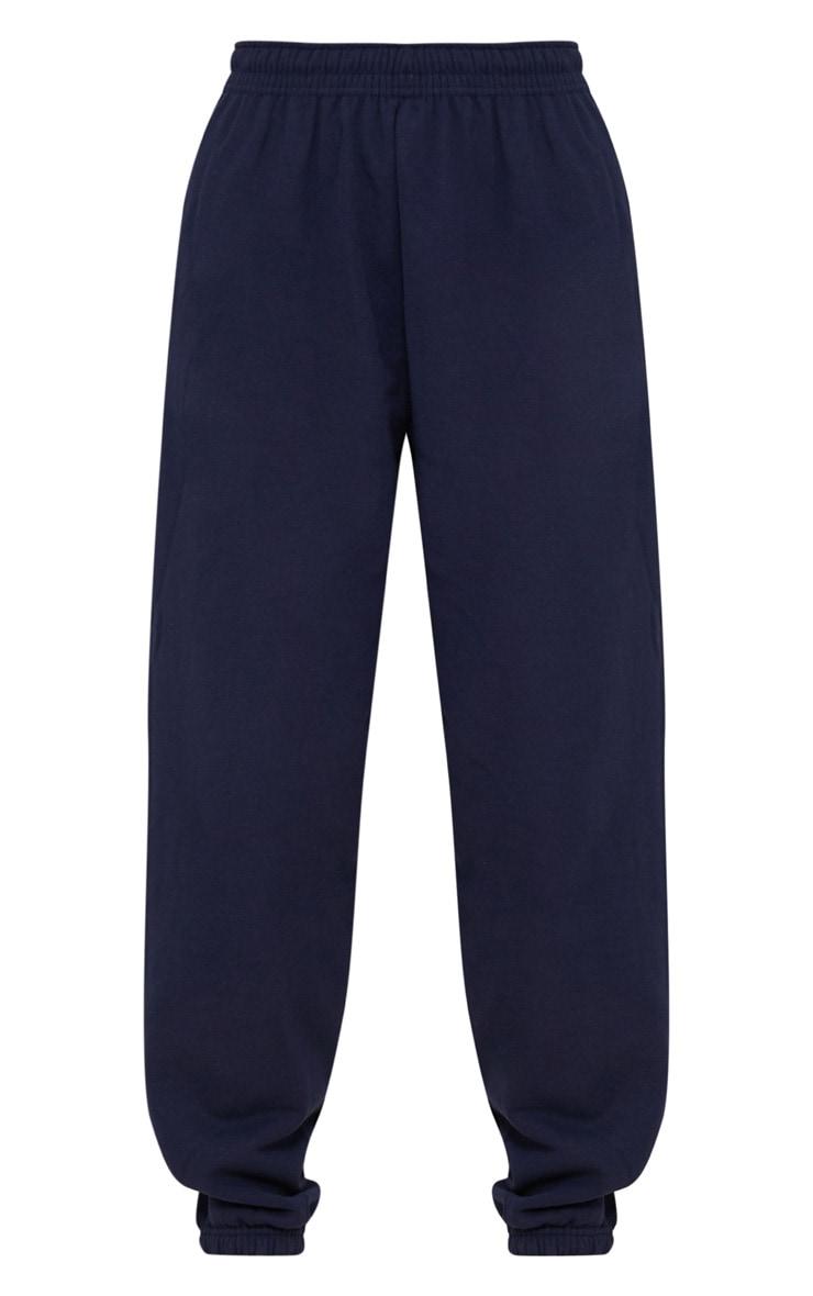 Navy Blue Casual Sweatpants 3