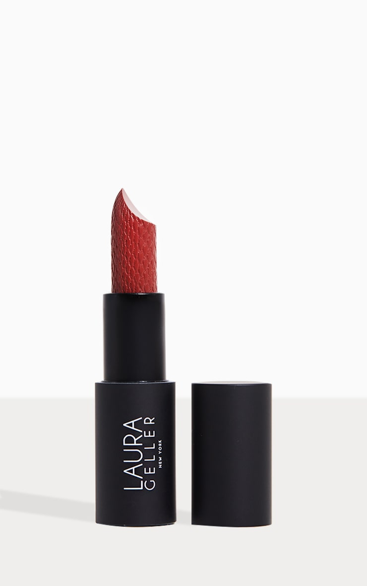 Laura Geller Iconic Baked Sculpting Lipstick Central Park Spice 1